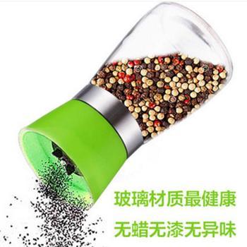 胡椒研磨器 手动陶瓷芯调味瓶 调料罐 厨房用品 花椒研磨胡椒粉器