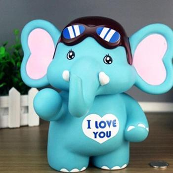大象存钱罐创意大号储钱罐 防摔可爱卡通儿童储蓄罐生日礼品礼物