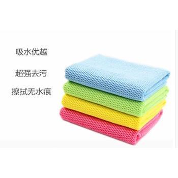 日尚家纺 韩国珍珠抹布吸水不掉毛加厚厨房清洁毛巾抹布擦桌子擦家具洗碗布