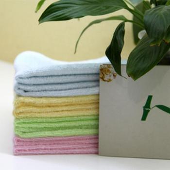 竹纤维方巾 25*25CM
