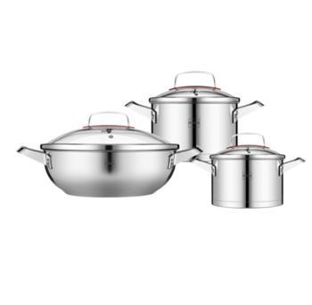 赫曼德(NOLTE)厨房家用不锈钢炒锅汤锅奶锅 HMD-9861