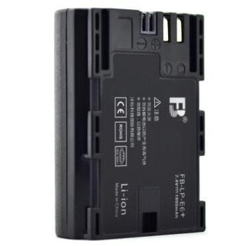 沣标(FB)LP-E6+ 数码相机电池 适用于佳能EOS 5D2 5D3 7D 6D 70D 60D