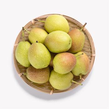江山 新疆库尔勒香梨 5斤 单果90g以上