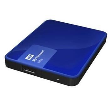 西部数据(WD)MyPassportUltra升级版1TB2.5英寸移动硬盘