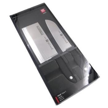 双立人德国TWINPointS炫银多用刀炫银中片刀两件套套装32874-002