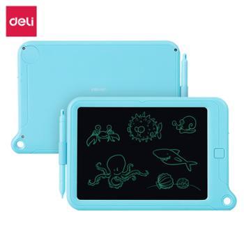 得力(deli)51002液晶手写板儿童画板绘画涂鸦板10.2英寸