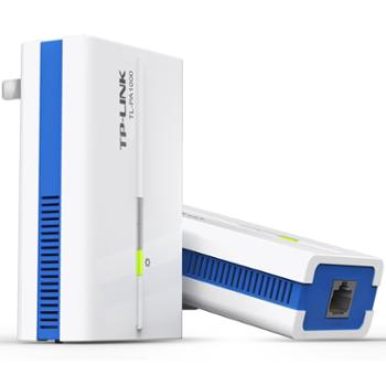 TP-LINKTL-PA1000套装1000M千兆有线电力线适配器两只装电力猫穿墙宝支持IPTV搭配无线路由器使用