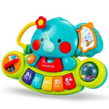 汇乐597大象手指探索训练琴儿童益智玩具