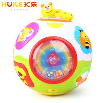 汇乐938运动伸展转转球婴幼儿早教益智玩具
