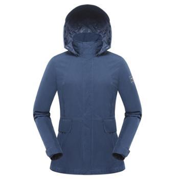 布来亚克女士防水透气冲锋衣SCW102