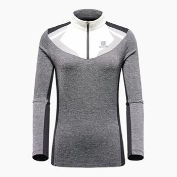 布来亚克女士秋冬长袖保暖T恤FCW532