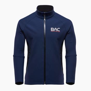 布来亚克男款BAC系列保暖厚针织抓绒外套WEM575