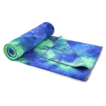 爱玛莎 防滑瑜伽铺巾扎染瑜伽毛巾垫 IM-YJ06A