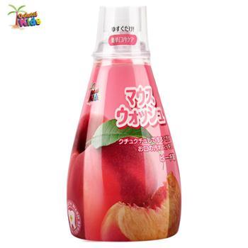 德露宝儿童漱口水草莓水蜜桃味340ml