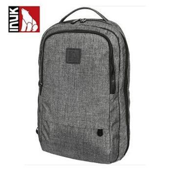 加拿大Inuk电脑背包 男女时尚休闲涤纶14英寸 埃菲尔灰 IKB50315107045