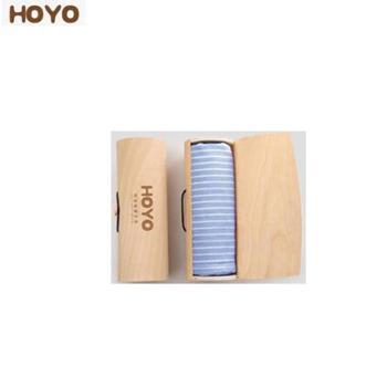 HOYO素颜毛巾橡木礼盒单条装 橡木礼盒毛巾单条装 100g 1592蓝色/1593粉色/1594灰色 7291