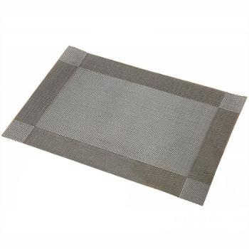 宝优妮 防滑防烫隔热PVC厨房餐垫 4片装 DQ9034-1