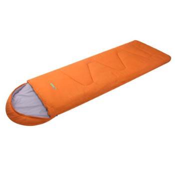 SCALER/思凯乐信封可拼接双人睡袋填充中空棉1300g橙色藏蓝Z9621046