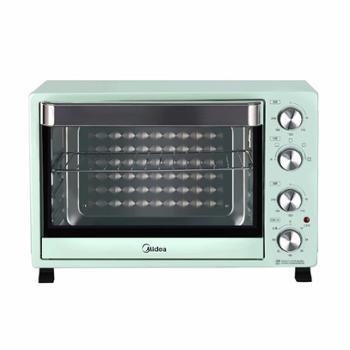 美的 多功能上下独立控温电烤箱 淡雅绿 PT35A0 35L 1500W