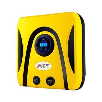 车行天下 车载轮胎12v电动便携多功能应急双缸高压充气泵 单泵