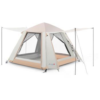 户外露营便携折叠式全自动双层4-6人帐篷ZL053