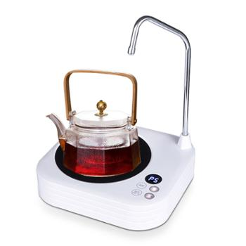 陶立方电陶炉煮水壶静音智能自动加水煮茶炉高硼硅玻璃壶1000ML蒸汽壶茶具套装