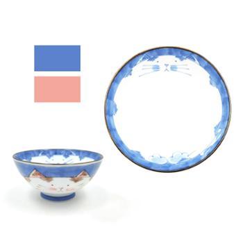 小物家园日本进口小碗小猫(单个)