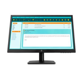 惠普21.5英寸显示器商用办公电脑屏N223V