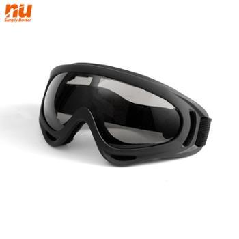 NU骑行摩托车防风护目镜哈雷战术射击面罩
