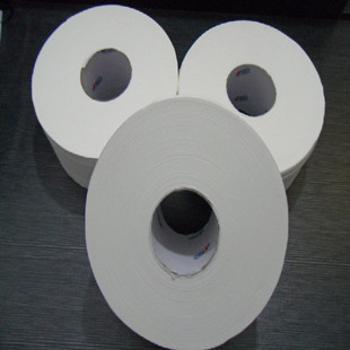 心相印公用大盘卷纸特惠装220米/卷双层木浆卫生纸3卷/组