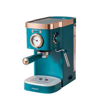 东菱家用半自动咖啡机温度可视DL-KF5400