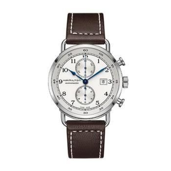 Hamilton汉米尔顿卡其海军系列机械表瑞士手表布带男表H77706553
