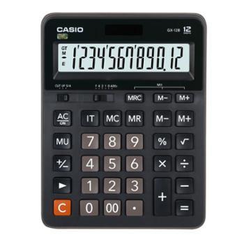 卡西欧GX-12B 计算器 CASIO 日常商务计算器