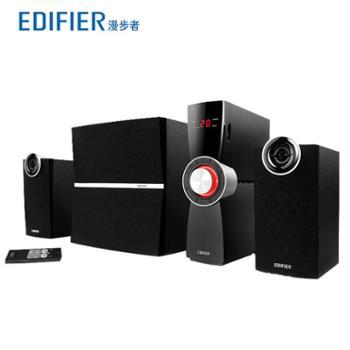 Edifier/漫步者C2X木质2.1电脑音箱独立功放重低音炮音响