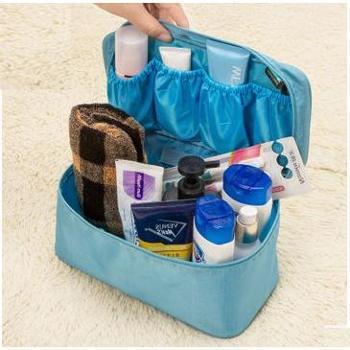 多功能 收纳洗漱包 化妆包 便携袜子内衣 文胸整理包