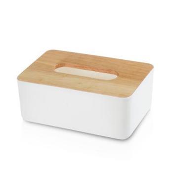 I.JOY欧式木质纸巾盒纸巾抽收纳盒