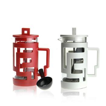 sohome 明代耐热玻璃咖啡壶 冲泡壶法压壶茶壶过滤壶