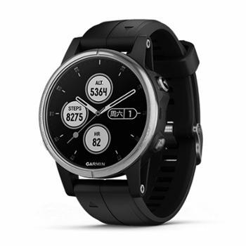 佳明/GARMIN健身智能运动音乐时尚支付光电心率手表fenix5sPlus