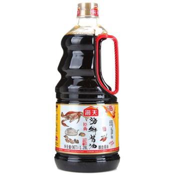 海天海鲜酱油1.28l