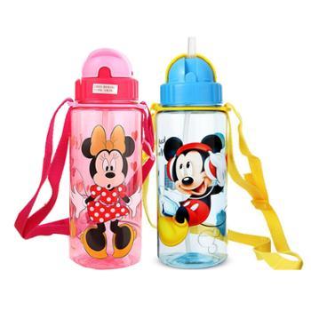 迪士尼塑料510ML吸管杯