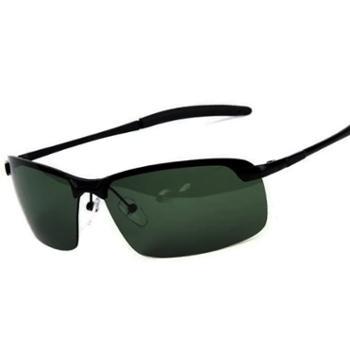 砾石(Thiseson)A3043支腿男士太阳镜 新款半框眼镜 户外驾驶镜 酷炫墨镜