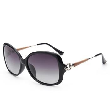 砾石 偏光太阳镜 优雅墨镜时尚潮流女款司机驾驶镜 可配近视眼镜