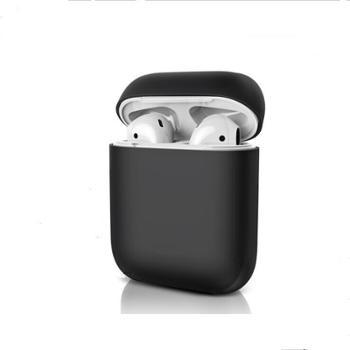 airpods Airpods2保护套苹果液态硅胶软无线蓝牙耳机套 颜色随机发货