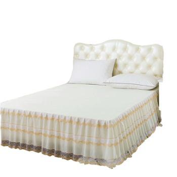 雅迪娜/ADINOR夏季蕾丝花边床裙适用1.5/1.8米床