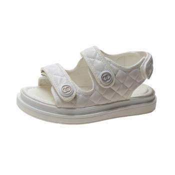 耶斯爱度新款冷粘皮面沙滩凉鞋(货推)(八峰-019)