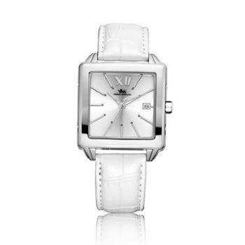 尼诺里拉NINO RIVA 大表盘石英手表时尚方形女表 12017.021.01