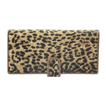 尼诺里拉NINORIVA 咖啡色时尚动物纹NINORIVA长款钱夹 NR60267 1
