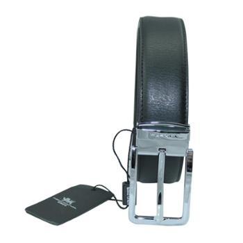 尼诺里拉NINORIVA 黑色男士商务针扣腰带 NR143965