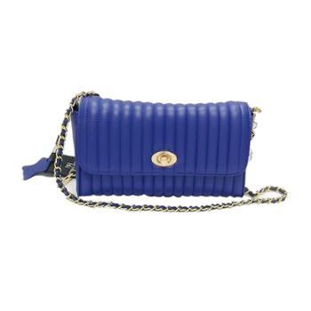 尼诺里拉NINORIVA 蓝色 NINORIVA简约时尚羊皮革链条斜挎单肩包 NR90469-2