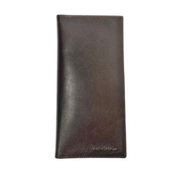 NINORIVA 尼诺里拉 咖色牛皮革长款钱夹 NR60337-2
